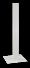 Mynd PROOX Standur fyrir Sápuskammtara Hvítur H:1330cm SF-143